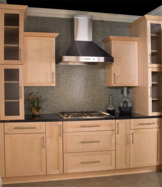 Natural Maple Kitchen Cabinets: Atlanta Kitchen Cabinet
